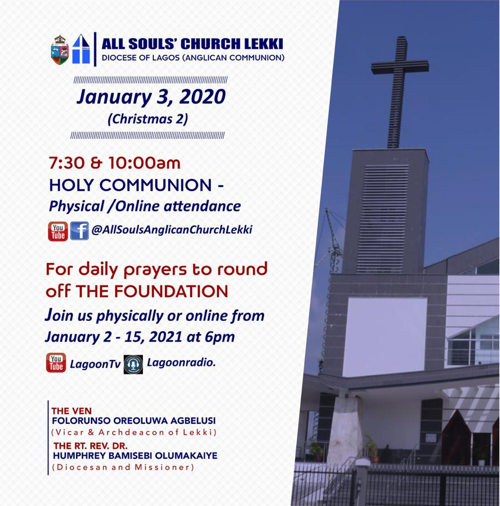 First Sunday Of The Year 2021 Flyer